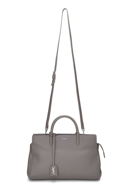 Grey Calfskin Rive Gauche Cabas Small, , large image number 1