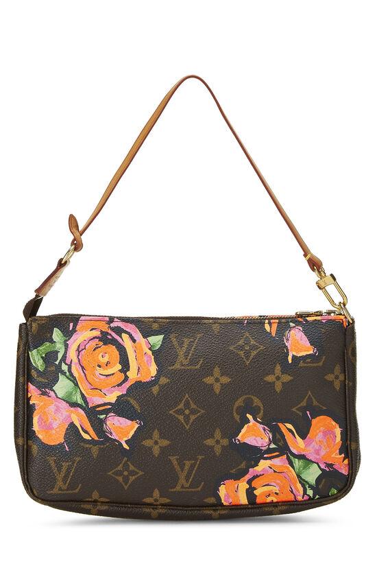 Stephen Sprouse x Louis Vuitton Monogram Roses Pochette Accessoires, , large image number 3