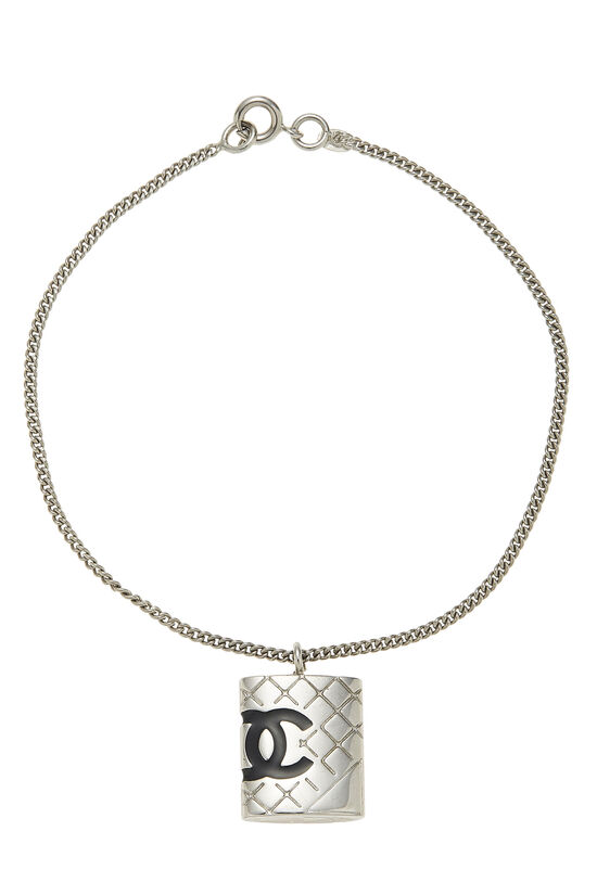 Silver Quilted Cambon Bracelet, , large image number 0