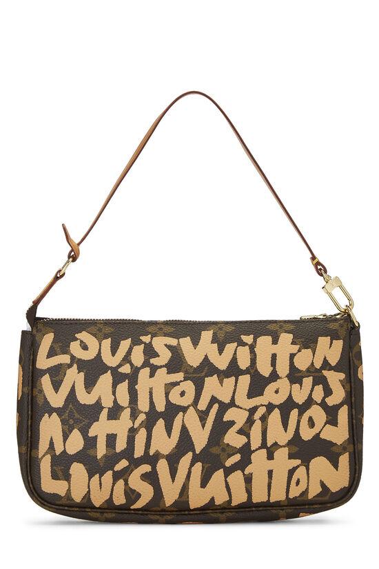 Stephen Sprouse x Louis Vuitton Beige Graffiti Pochette Accessoires, , large image number 3