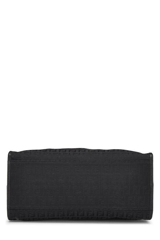 Black Zucchino Canvas Handbag Small, , large image number 4