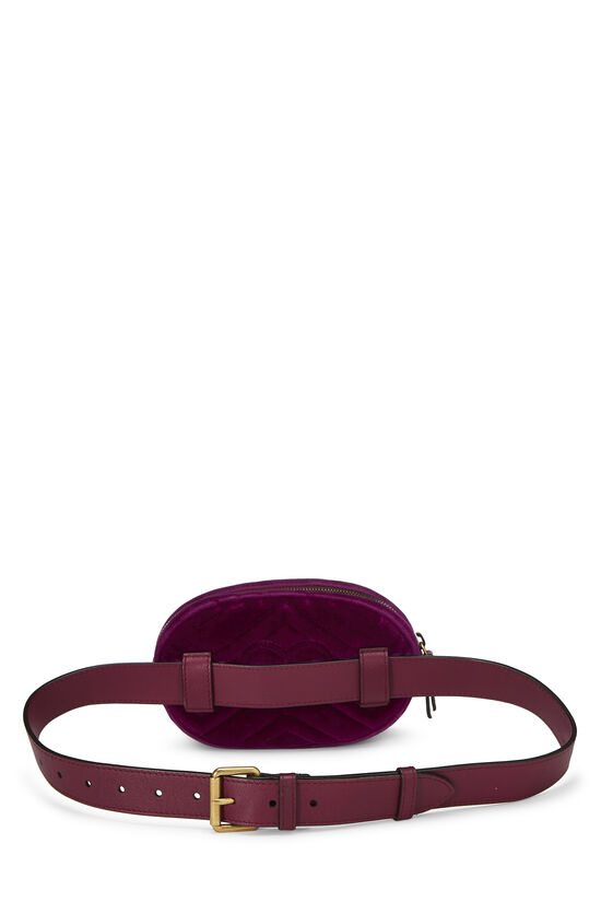 Purple Velvet Marmont Belt Bag Mini, , large image number 3