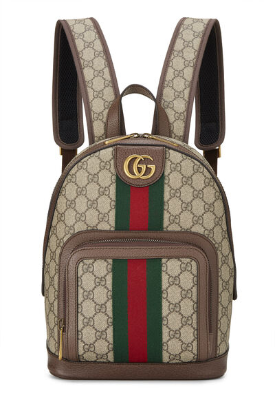 Original GG Supreme Canvas Ophidia Backpack Small