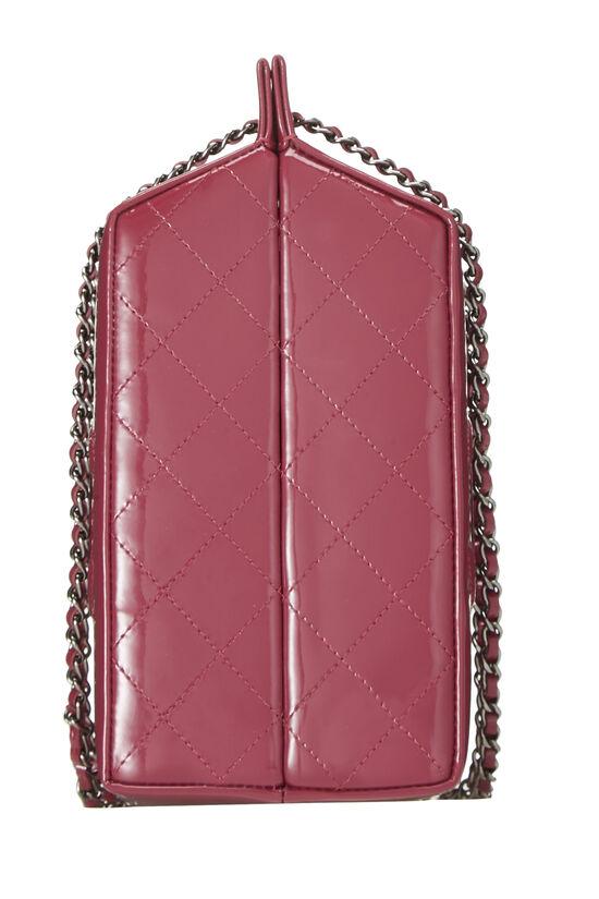 Pink Patent Leather Milk Carton Bag, , large image number 2
