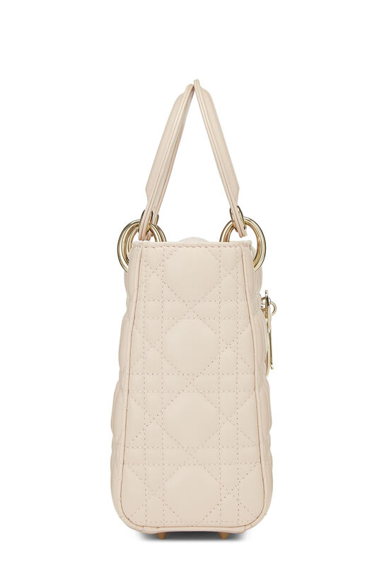 Pink Cannage Quilted Lambskin Lady Dior Small, , large image number 3