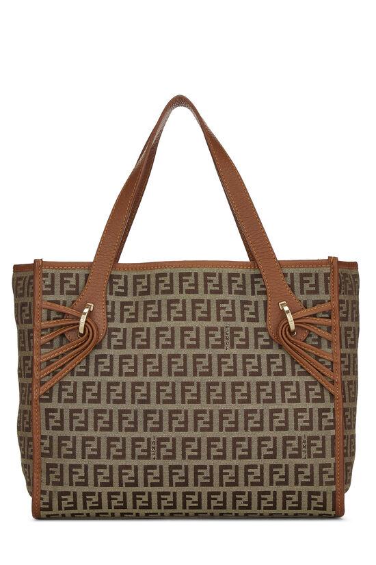Brown Zucchino Canvas Handbag Small, , large image number 3