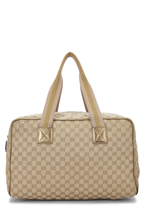 Original GG Canvas Carry On Duffle Large, , large image number 3