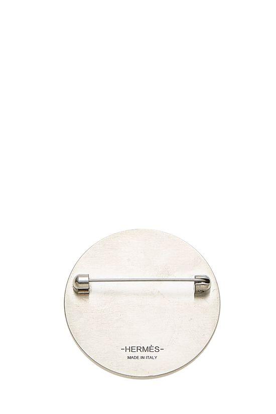 Silver & Grey Alligator Pin, , large image number 1