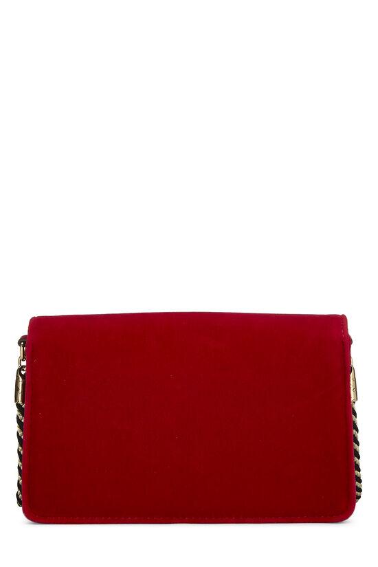 Red Velour Broadway Crossbody Mini, , large image number 3