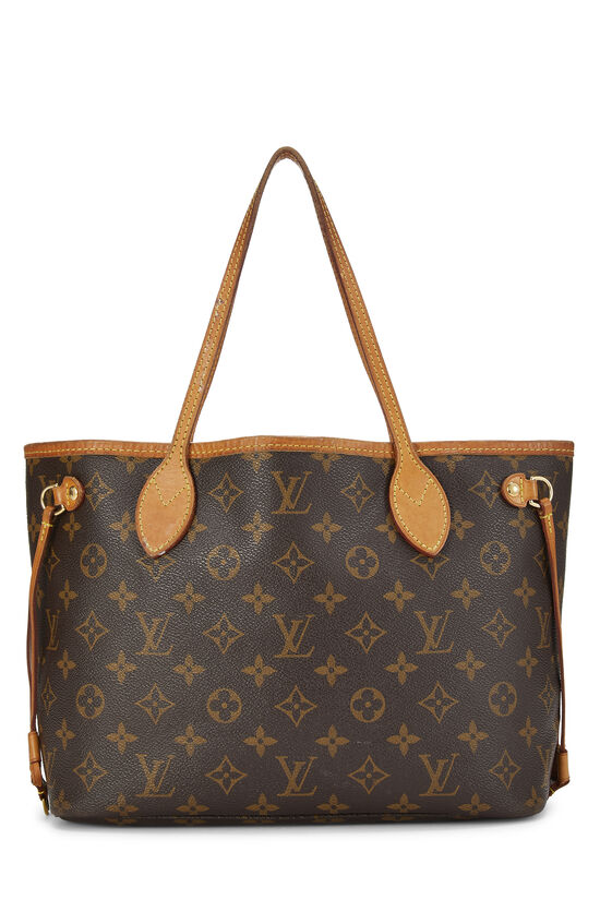 Pink Monogram Canvas Neverfull PM NM, , large image number 0