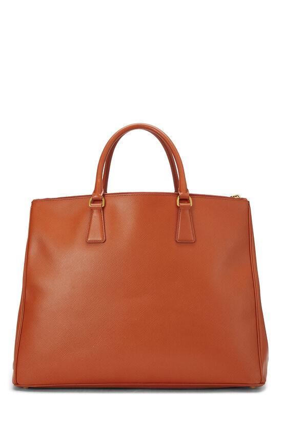 Orange Saffiano Executive Tote XL, , large image number 3