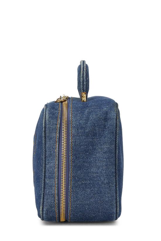 Blue Denim Lunch Box Vanity, , large image number 2