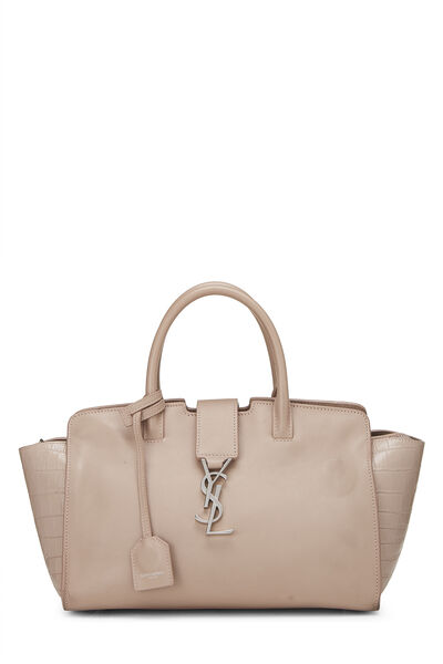 Pink Leather Downtown Cabas Small