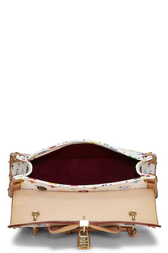 Takashi Murakami x Louis Vuitton White Monogram Multicolore Eye Need You Bag, , large image number 5