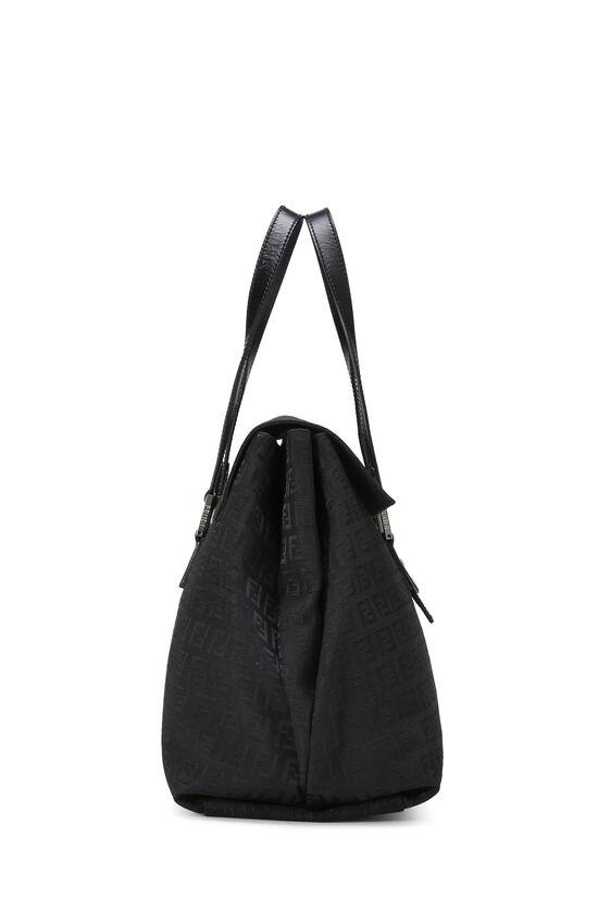 Black Zucchino Canvas Handbag Large, , large image number 2
