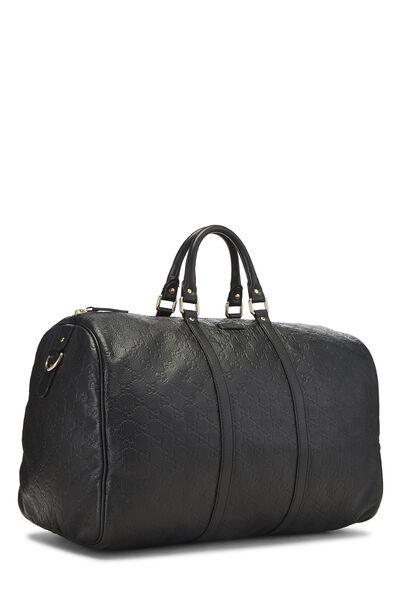 Black Guccissima Leather Joy Boston Large, , large