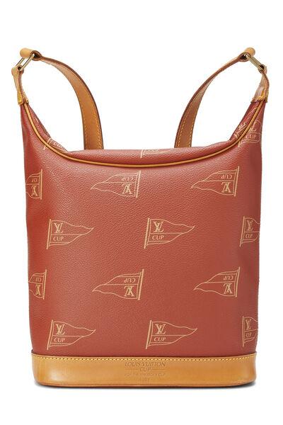 Red LV Cup Le Touquet Shoulder Bag