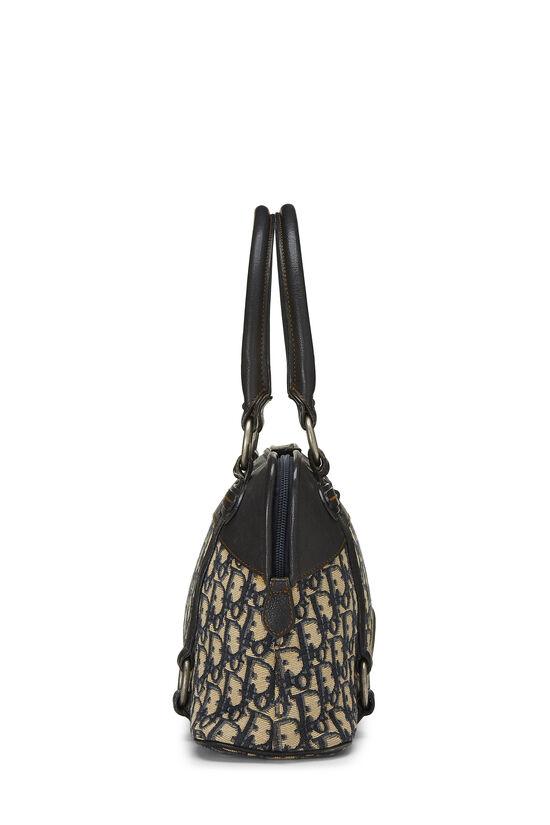 Navy Trotter Canvas Handbag, , large image number 2