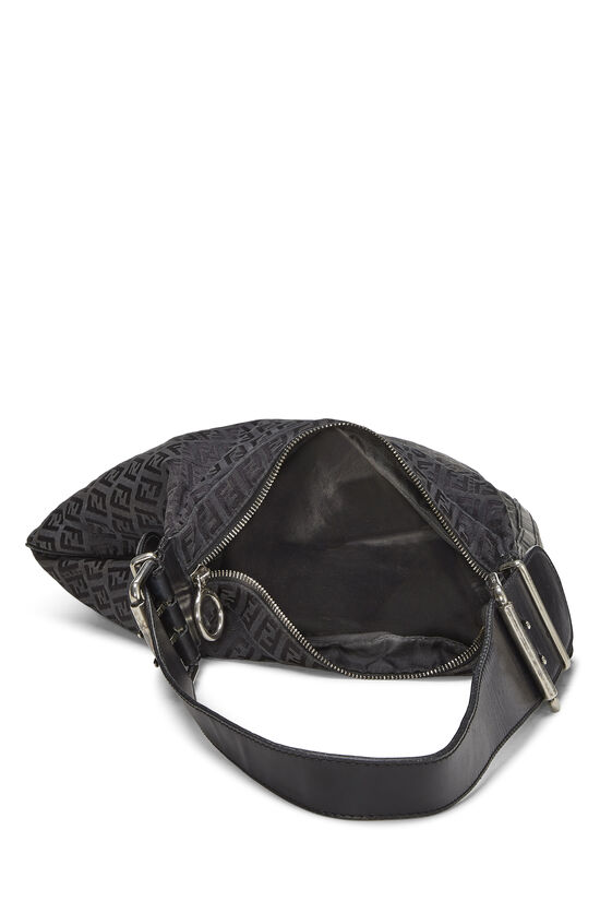 Black Zucchino Canvas Oyster Bag, , large image number 5