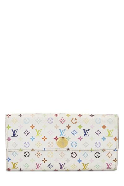 Takashi Murakami x Louis Vuitton White Monogram Multicolore Sarah
