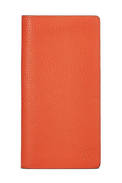 Orange Clemence Brazza Wallet