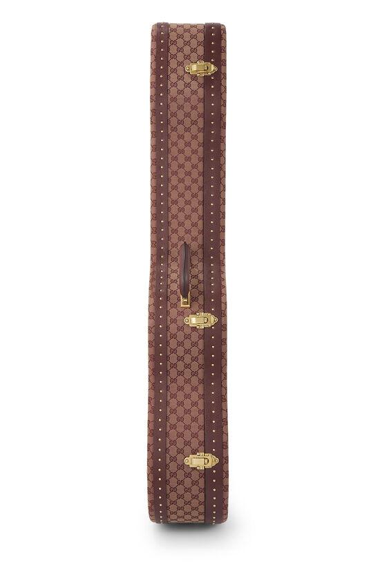 Burgundy GG Canvas Ophidia Guitar Case, , large image number 2