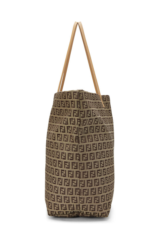 Beige Zucchino Canvas Zip Tote Large, , large image number 2