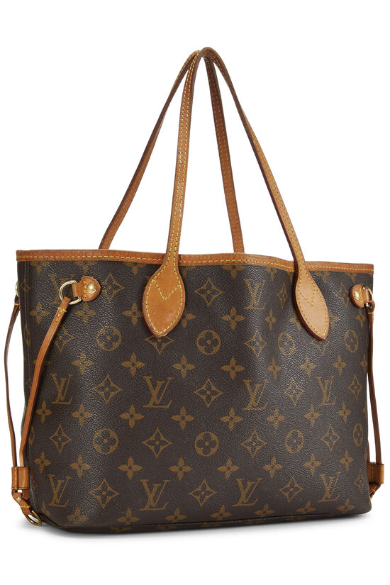 Pink Monogram Canvas Neverfull PM NM, , large image number 1