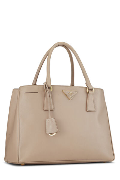 Pink Saffiano Leather Tote, , large