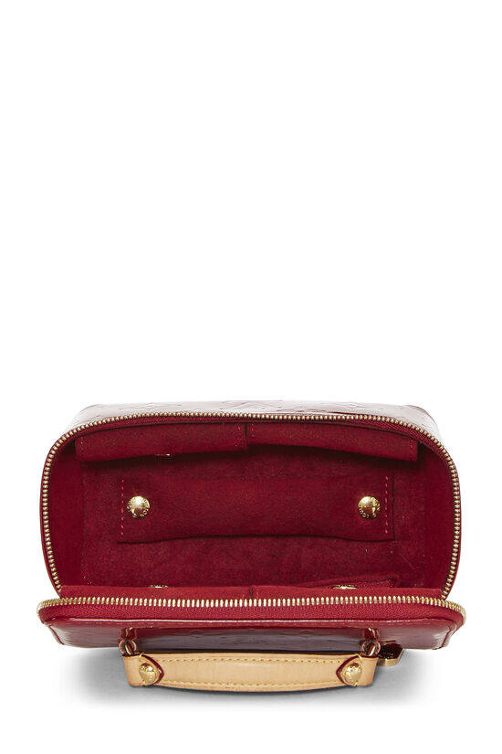 Pomme D'Amour Monogram Vernis Jewelry Case Mini, , large image number 5