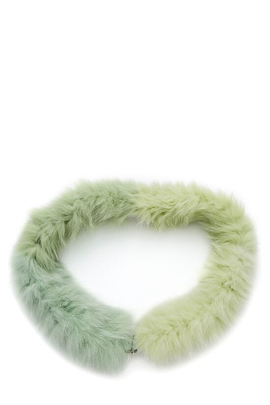 Green Fox Boa Scarf, , large image number 1