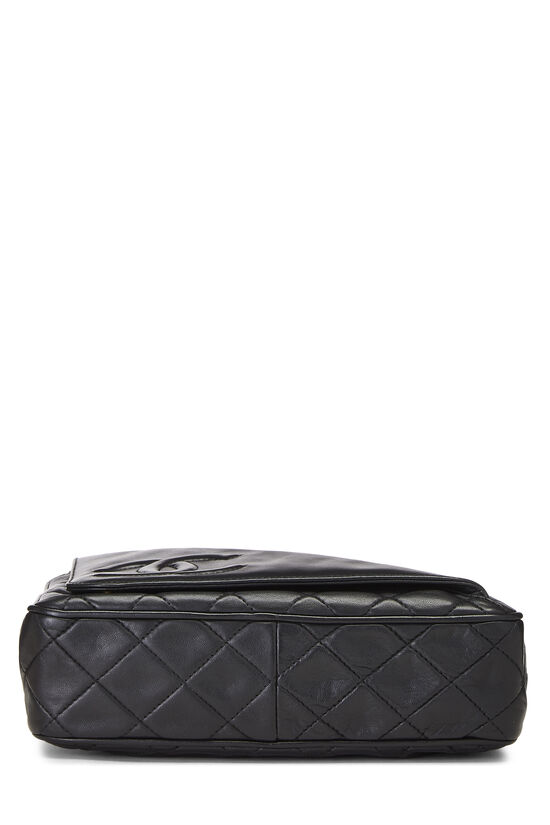 Black Lambskin Pocket Camera Bag Medium, , large image number 5
