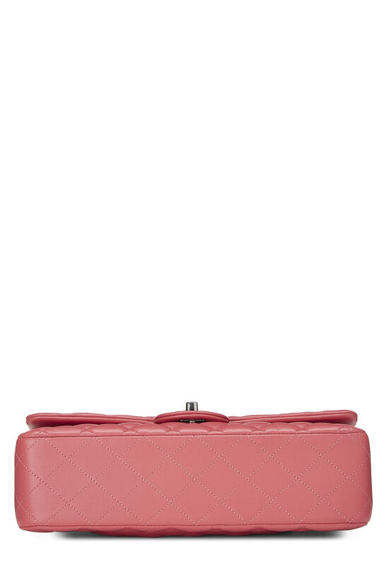 Pink Quilted Lambskin Classic Double Flap Medium, , large image number 4