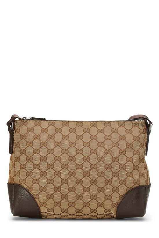 Original GG Canvas Shoulder Bag, , large image number 3