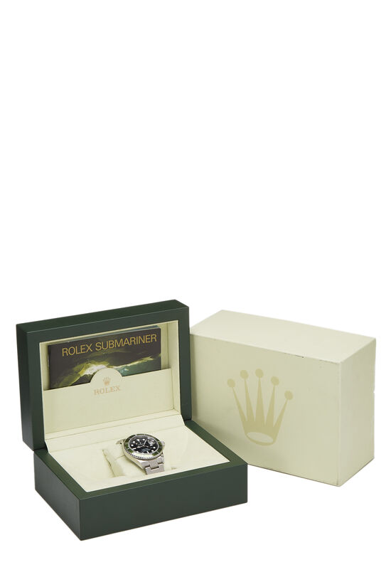 Stainless Steel Submariner-Date Kermit 16610LV 40mm, , large image number 3