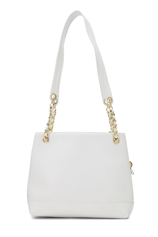 White Caviar Zip Tote, , large image number 3