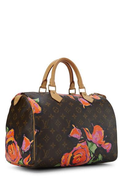 Stephen Sprouse x Louis Vuitton Monogram Roses Speedy 30, , large