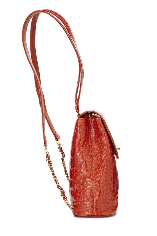 Orange Alligator Backpack, , large image number 2