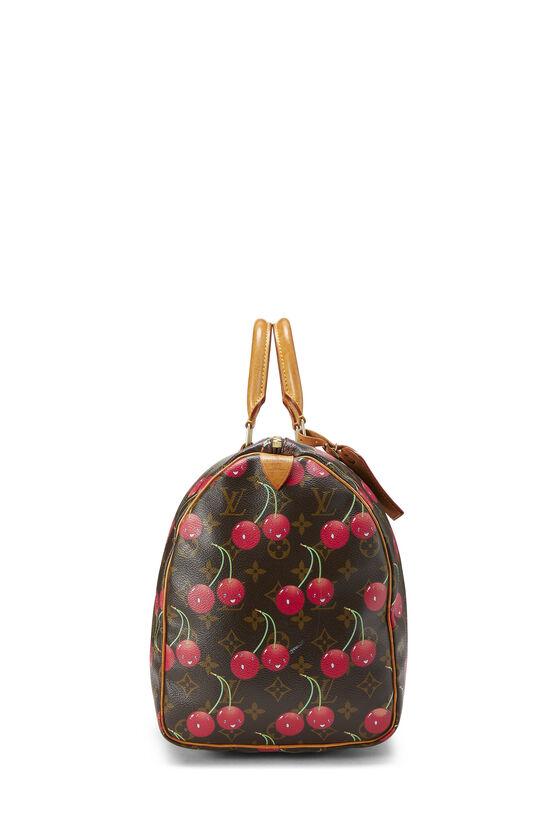Takashi Murakami x Louis Vuitton Monogram Cherry Keepall 45, , large image number 2