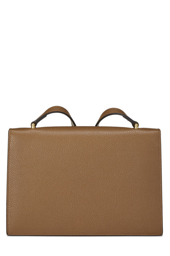 Brown Leather Zumi Shoulder Bag Small, , large image number 4
