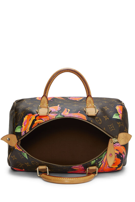 Stephen Sprouse x Louis Vuitton Monogram Roses Speedy 30, , large image number 5