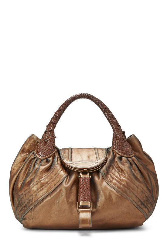 Metallic Copper Leather Spy, , large image number 0