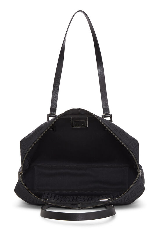 Black Zucchino Canvas Tote Small, , large image number 5