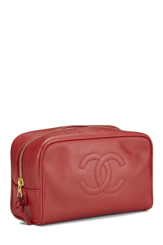 Red Caviar 'CC' Cosmetic Bag, , large image number 1