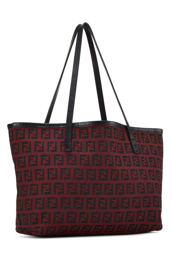 Red & Black Zucchino Canvas Tote Mini, , large image number 1
