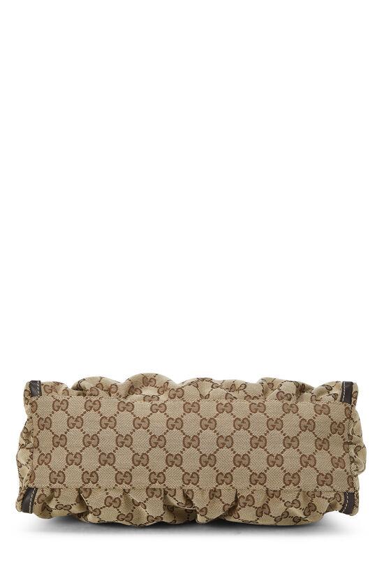 Original GG Canvas Abbey Shoulder Bag, , large image number 4