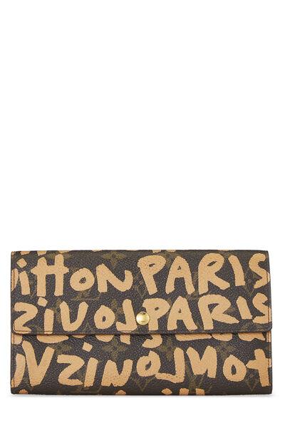 Stephen Sprouse x Louis Vuitton Beige Monogram Graffiti Sarah