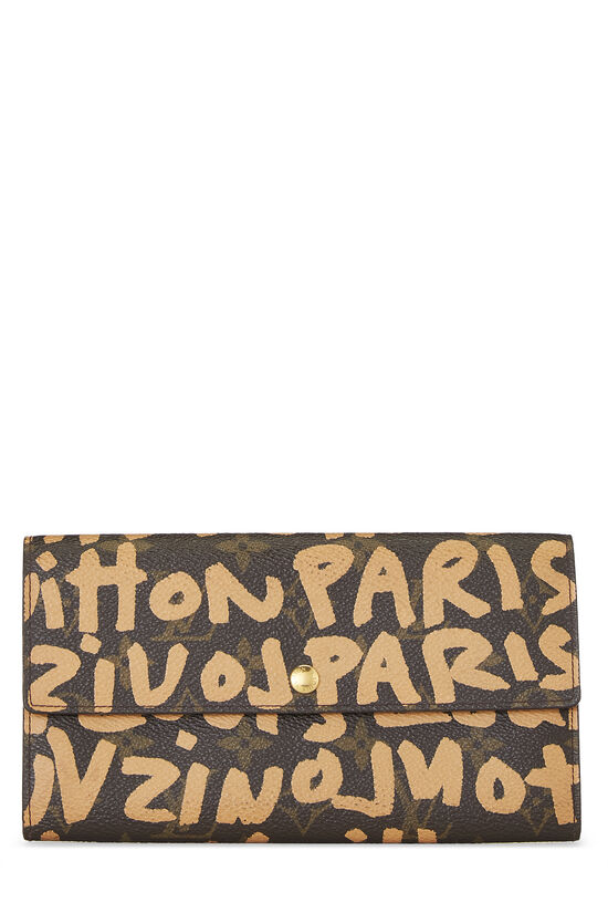 Stephen Sprouse x Louis Vuitton Beige Monogram Graffiti Sarah, , large image number 0