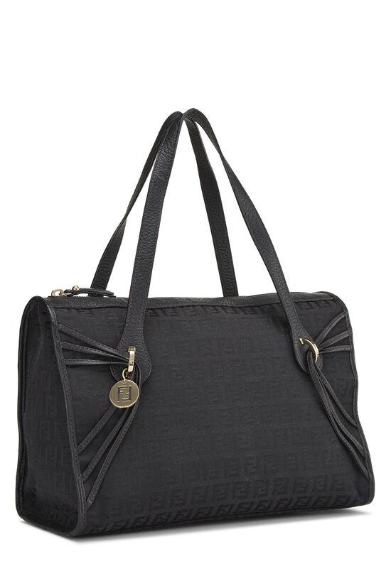Black Zucchino Canvas Handbag Small, , large image number 1