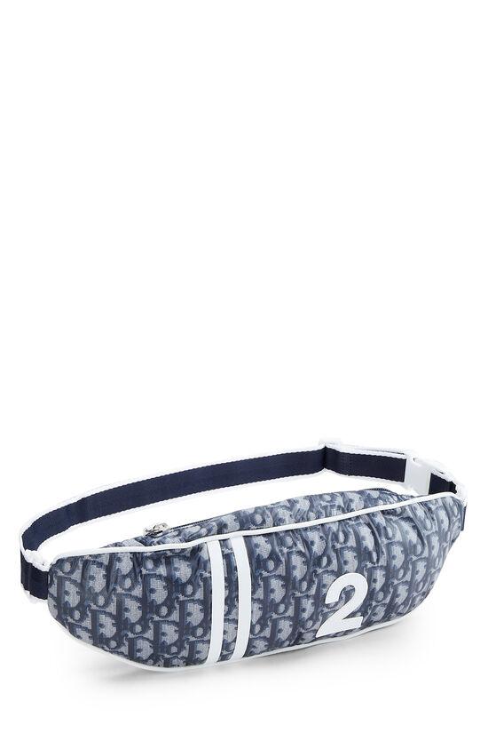 Navy Trotter Nylon Varsity Belt Bag, , large image number 1